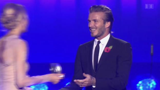 Video «David Beckham: Der Ex-Fussballer in Unterhosen wird 40» abspielen