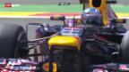 Video «Formel 1: GP von Belgien, freie Trainings» abspielen