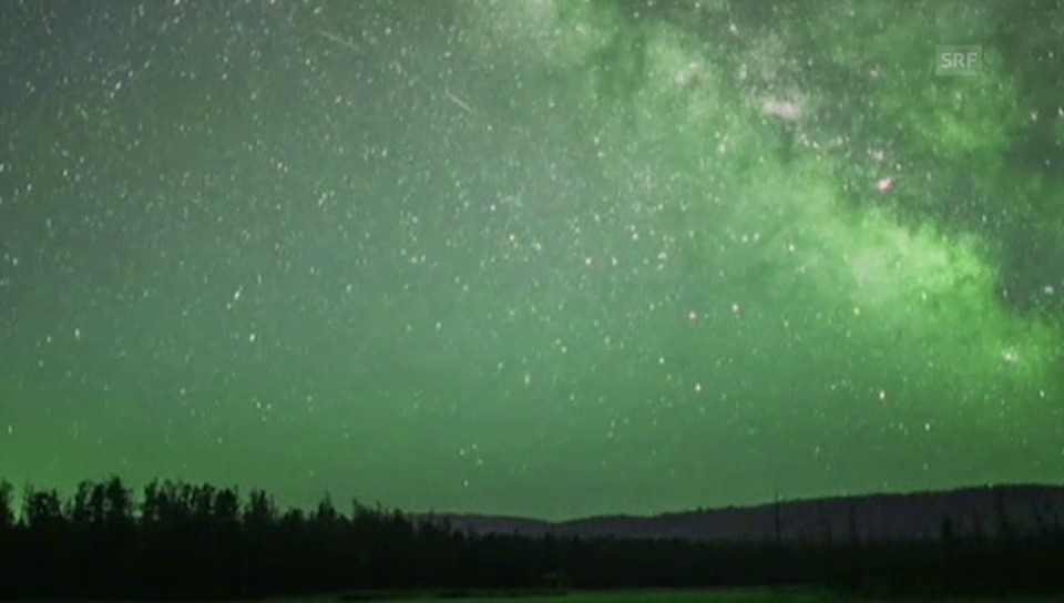 Meteoritenregen über China (ohne Ton)