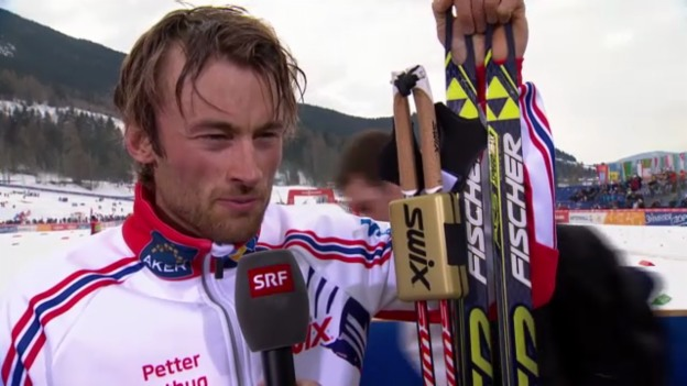 Video «Ski nordisch: Interview mit Petter Northug» abspielen