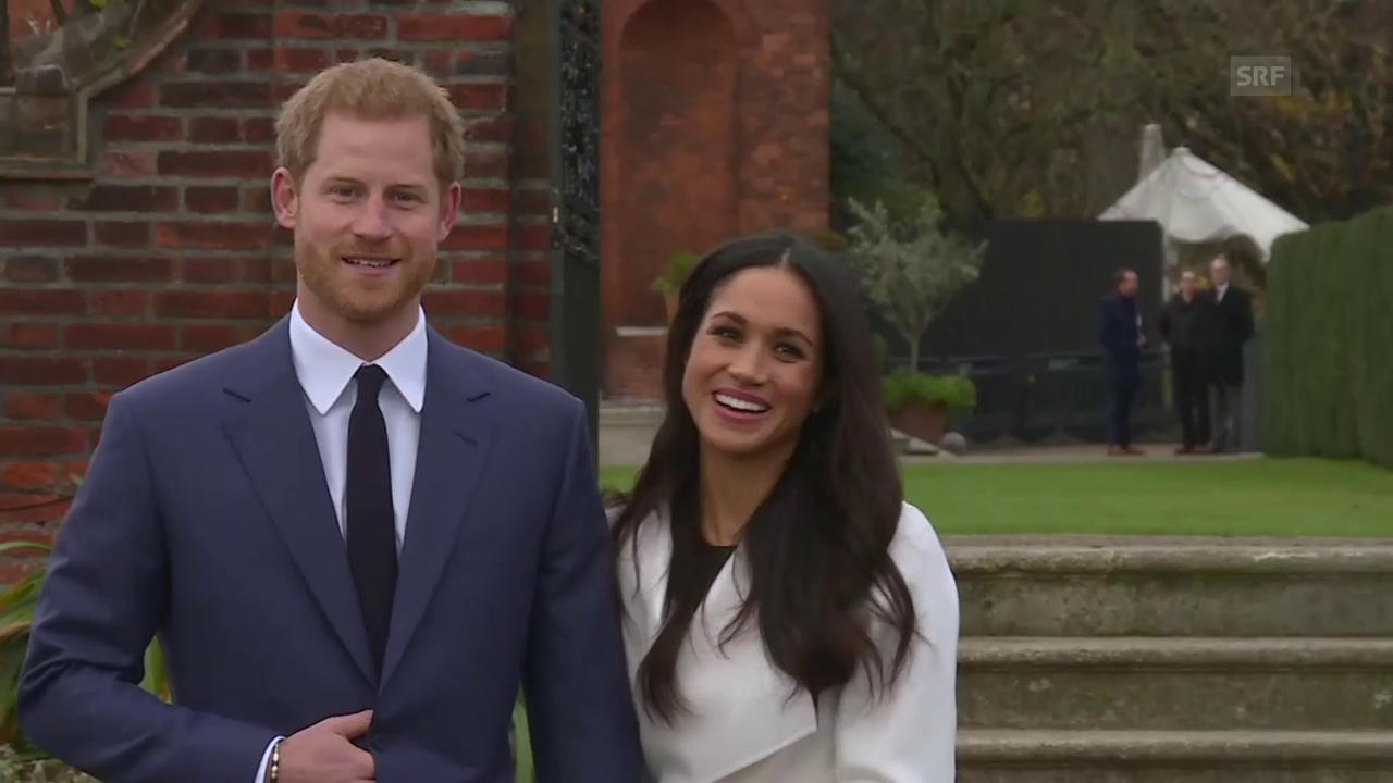 Prinz Harry und Meghan Markle: Erster gemeinsamer Auftritt als Verlobte (unkomm.)