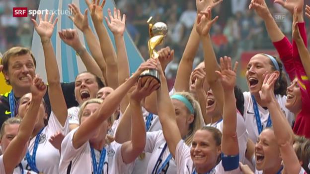 Video «Fussball: Frauen-WM, Final, USA - Japan» abspielen