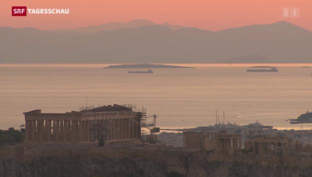 Video «Verschärft Athen die Euro-Krise?» abspielen