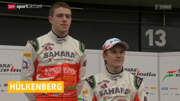 Video «Hülkenberg zurück zu Force India» abspielen