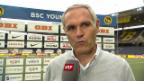 Video «Lugano-Trainer Tami: «In 5 Minuten alles kaputt gemacht»» abspielen