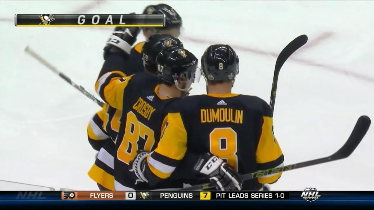 Hattrick: Crosby spielt sich in einen Rausch