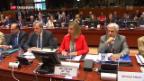 Video «EU-Aussenministertreffen: mahnende Worte an Erdogan» abspielen