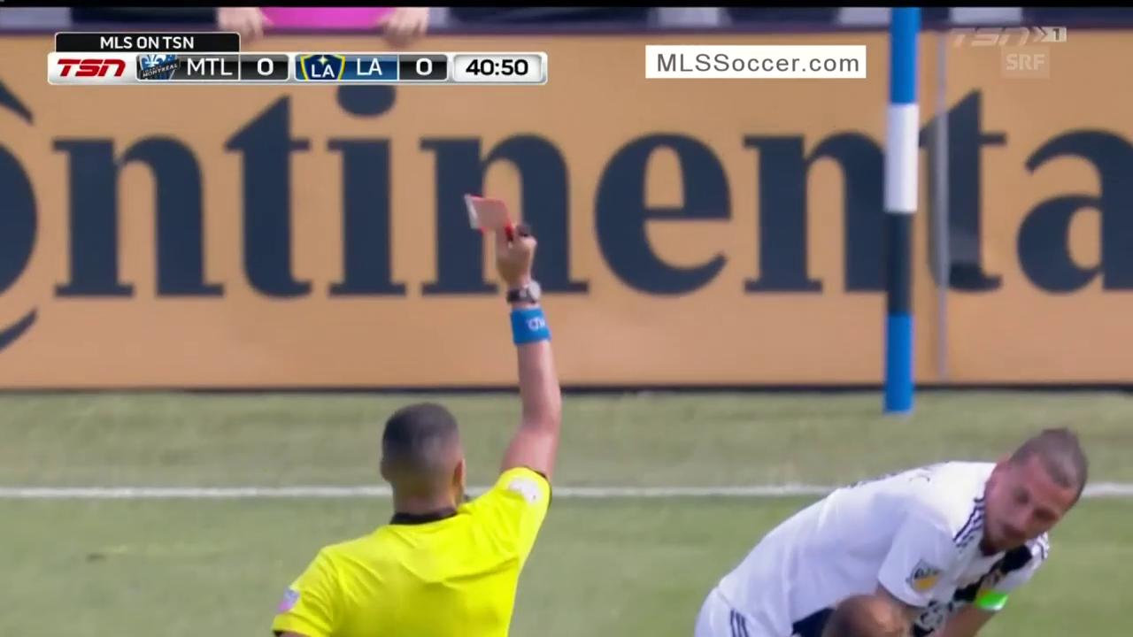 Platzverweis für Ibrahimovic in der MLS