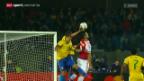 Video «Fussball: Copa America, Brasilien - Paraguay» abspielen