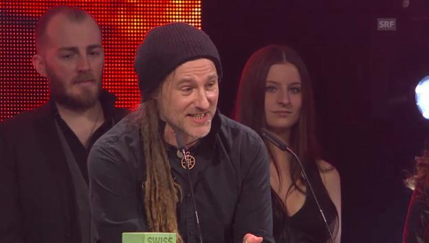 Video «Eluveitie freuen sich über ihren Award» abspielen