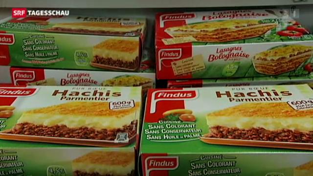 Lebensmittel-Skandal in Europa