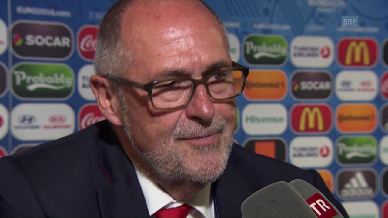 SFV-Präsident Peter Gilliéron: «Fussball ist grausam»