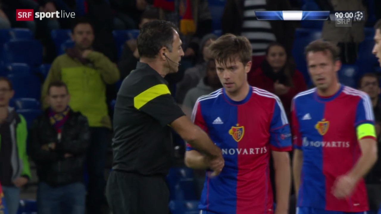 Fussball: Highlights Basel - Steaua Bukarest («sportlive»)