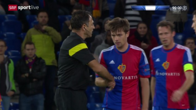 Video «Fussball: Highlights Basel - Steaua Bukarest («sportlive»)» abspielen