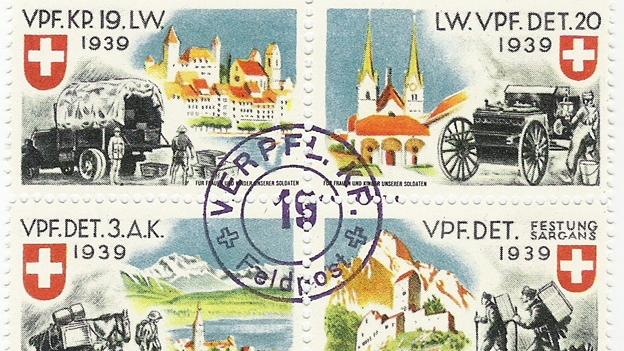 Feldpost: Käse im Wäschesack
