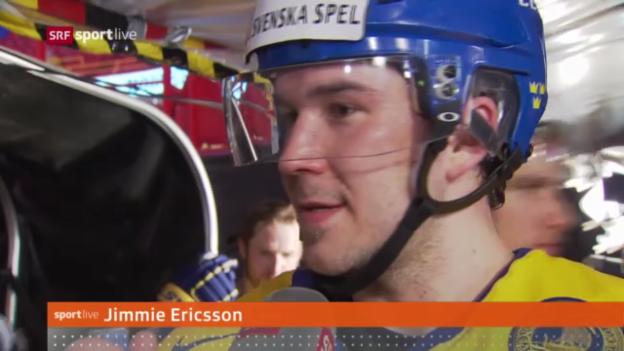 Video «Interview mit Jimmy Ericcson» abspielen