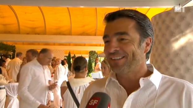 Video «Montreux Eröffnung – ganz in Weiss» abspielen