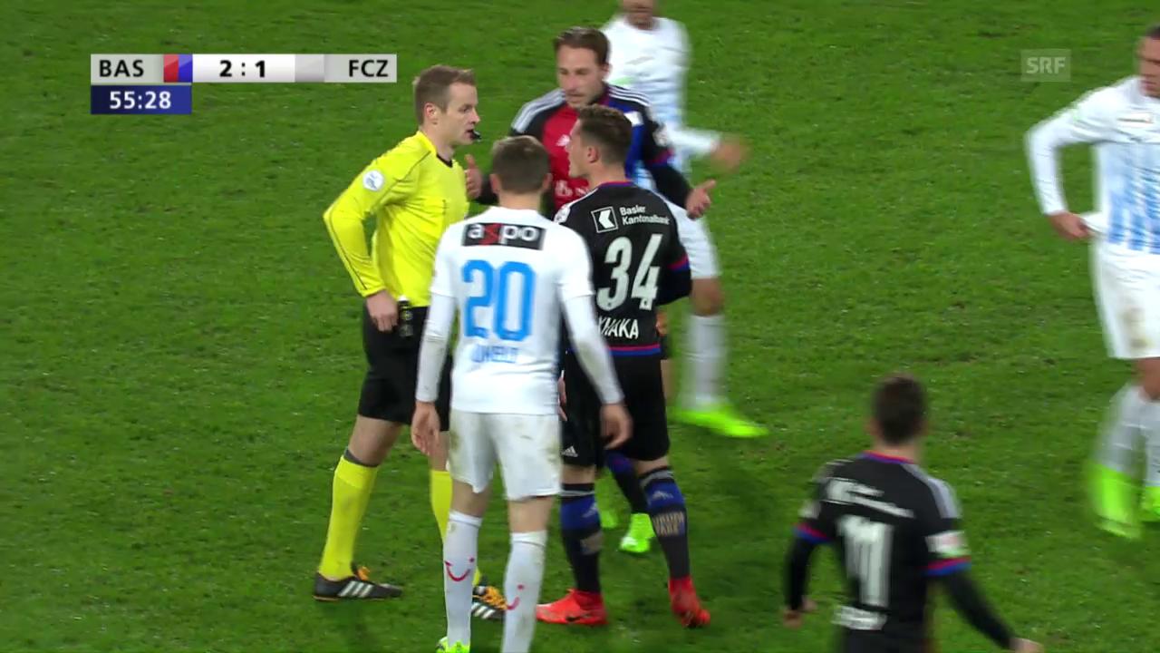 Xhaka attackiert Schiedsrichter nach Platzverweis
