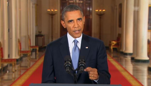 Video «Obama zu Syrien (Engl.): Gründe für den US-Militäreinsatz» abspielen