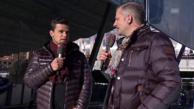 Video «Ski Alpin: Spengler Cup, Gespräch Küng Teil 1» abspielen