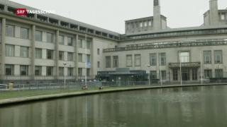 Video «24 Jahre Kriegsverbrecher-Tribunal» abspielen