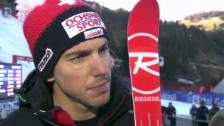 Video «Ski alpin: Super-G in Gröden, Interview mit Carlo Janka» abspielen