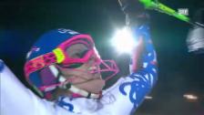 Video «Slalom Semmering: 2. Lauf von Velez Zuzulova» abspielen
