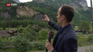 Video «Höhere Explosionsgefahr» abspielen