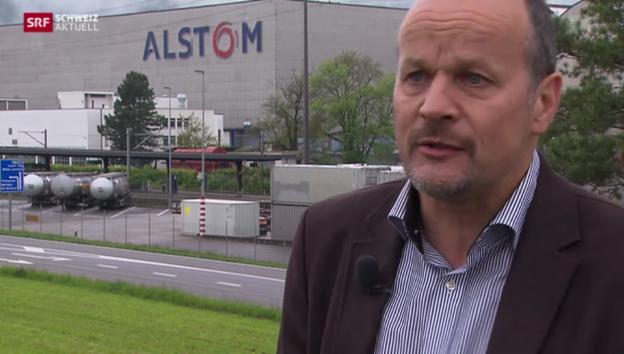 Video «Baden fiebert mit im Übernahmepoker um Alstom» abspielen