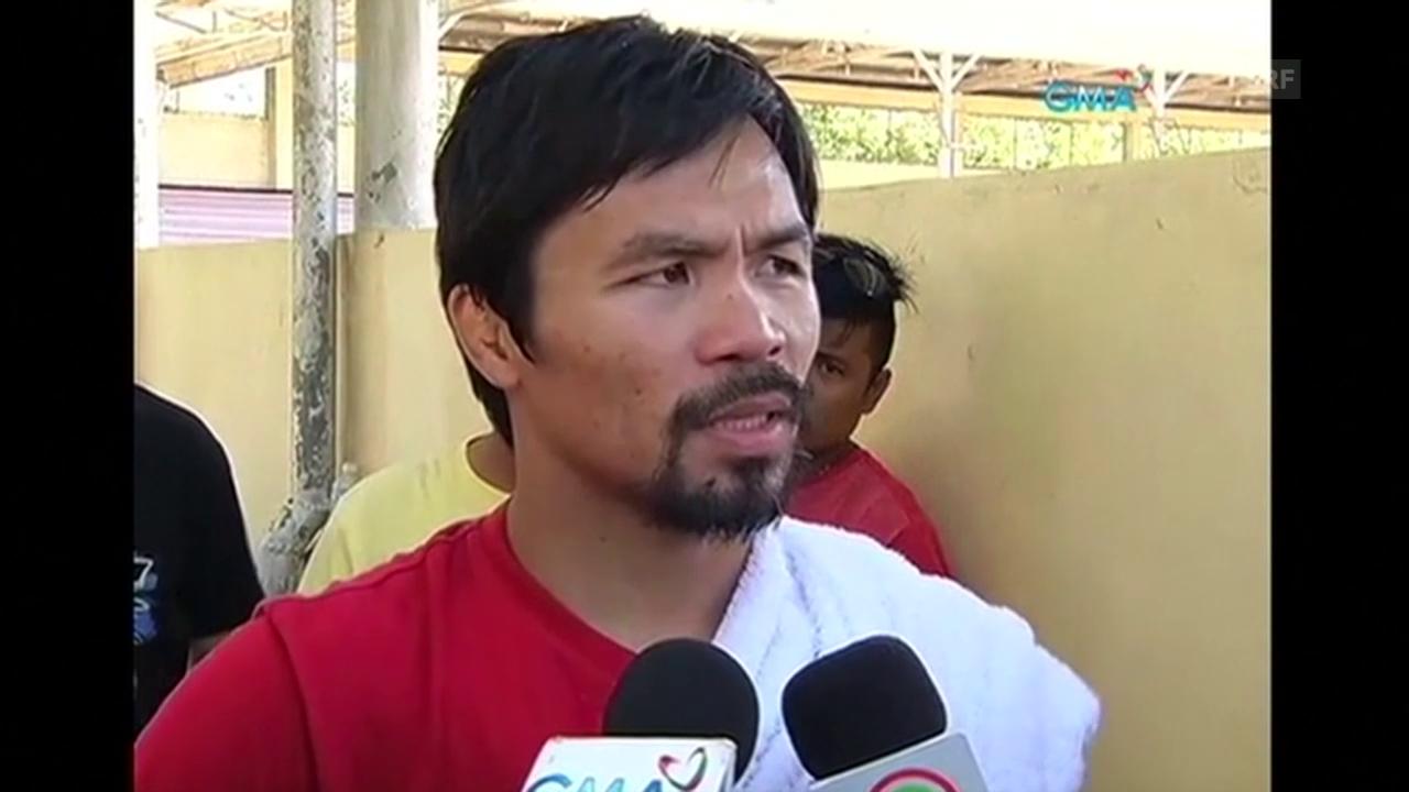Nike kündigt Vertrag mit Manny Pacquiao