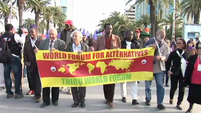 Weltsozialforum in Tunis