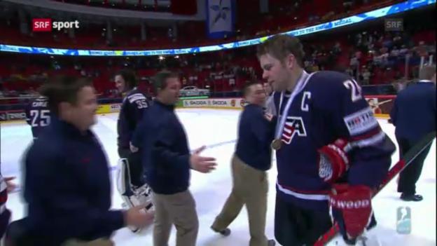 Video «USA gewinnt WM-Bronze («sportaktuell»)» abspielen