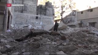 Video «Verheerende Bombenangriffe auf Aleppo» abspielen