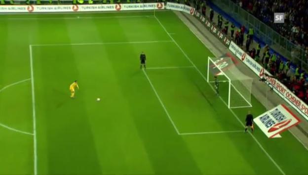 Video «Die Entscheidung im Penaltyschiessen» abspielen