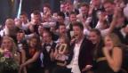 Video «Luca Hänni jubelt «Sieeeeeg!»» abspielen