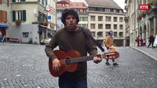Laschar ir video «Pascal Gamboni en la citad veglia»