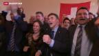 Video «Hauchdünnes «Ja» zur Masseneinwanderungsinitiative» abspielen