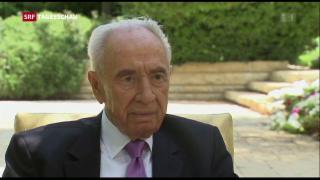 Video «Ehemaliger israelischer Regierungschef Schimon Peres gestorben» abspielen