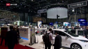Video «Wie viele umweltfreundliche Autos sind am Autosalon zu sehen?» abspielen