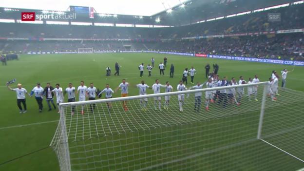 Video «Der FCZ gewinnt den Cupfinal 2014 dank 2 Treffern in der Verlängerung» abspielen