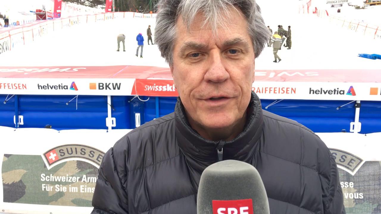 Berni Schär blickt auf Patrick Küngs Wengen-Sieg 2014 zurück