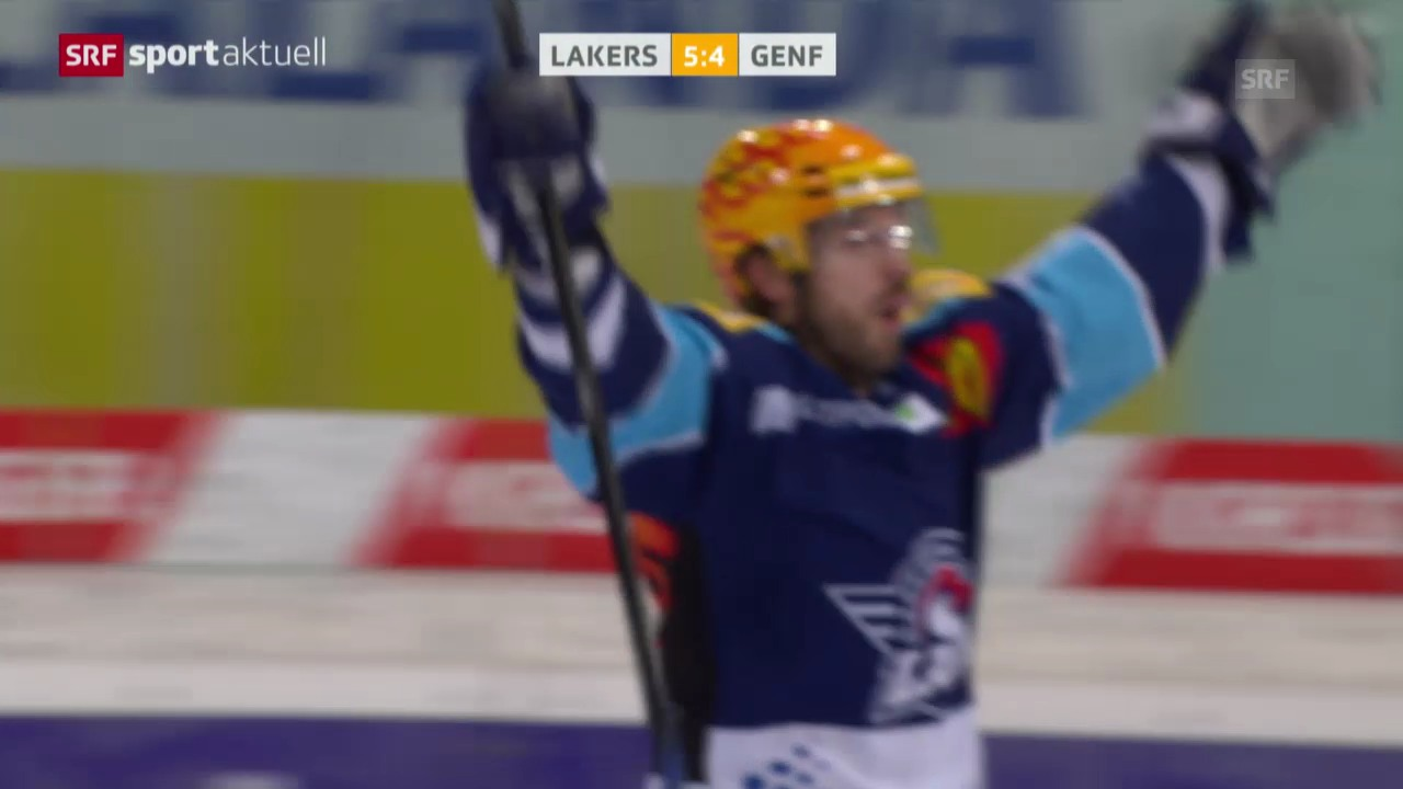 Eishockey: Lakers - Genf