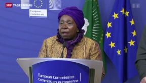 Video «Afrikanische Union zu Gast in Brüssel» abspielen