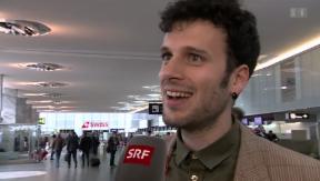 Video «ESC-Abenteuer: Sebalter reist nach Kopenhagen» abspielen