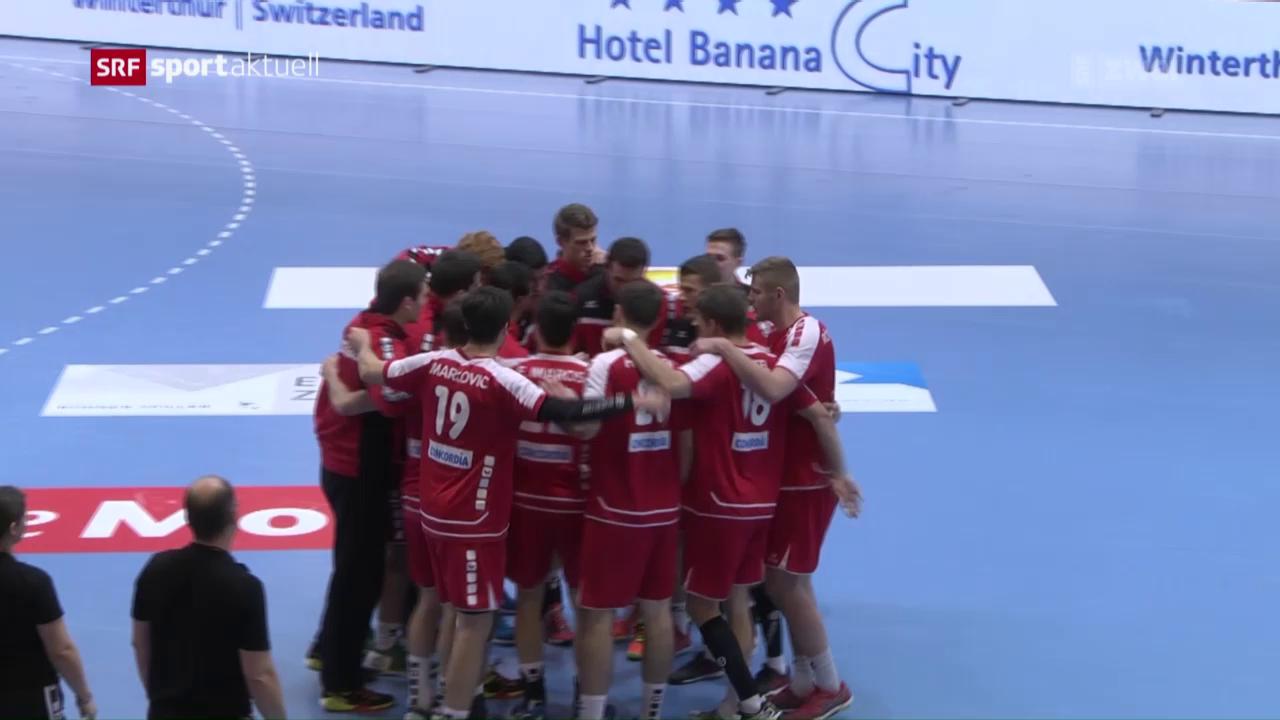 Lockerer Startsieg für die Schweiz