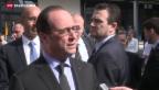 Video «Präsident Hollande interessiert sich für Schweizer Lehrlinge» abspielen