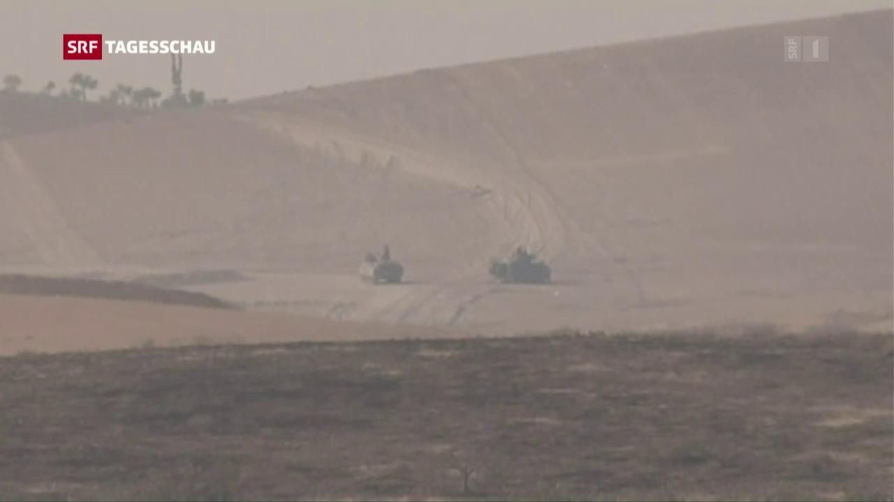 Türkei beschiesst Stellungen kurdischer Milizen in Syrien