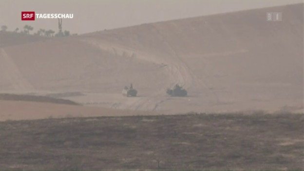 Video «Türkei beschiesst Stellungen kurdischer Milizen in Syrien» abspielen