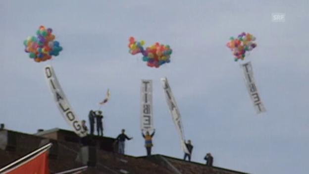Video «Eklat bei Staatsbesuch in Bern (25.03.1999)» abspielen