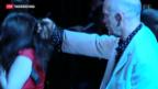 Video «Hollywood-Schauspieler Malkovich am Klassik-Festival in St. Prex» abspielen